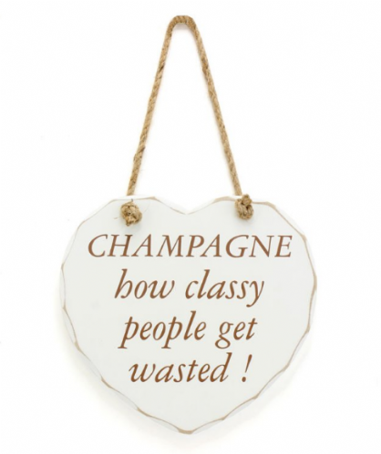 CHAMP CLASSY GET WASTED PLAQUE